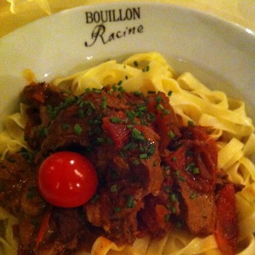Saute Seau De Marengo Tagliatelle @ Bouillon Racine