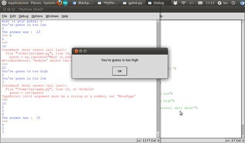 Python Tutorial Lesson 2