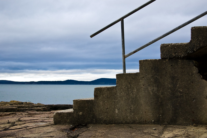 stair to the sea