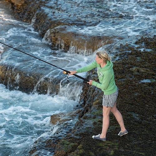 A Lady Angler