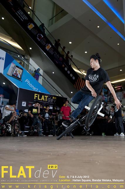 Calvin Tan - Won 3rd Place on BMX Flatland Pro Division