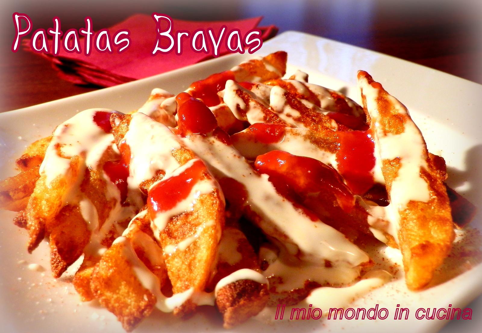 PATATAS BRAVAS  tapas tipica spagnola
