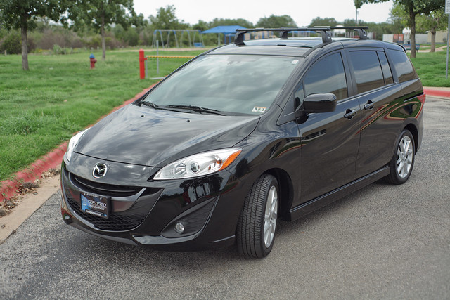 Our new family car:  2012 Mazda 5 Grand Touring