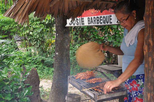 Roadside Barbecue Vendor