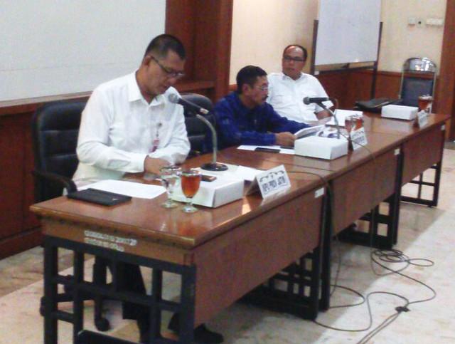 Suasana Rapat Persiapan Pilkada Tahun 2018 di ruang rapat Kadiri, Kantor Gubernur Jawa Timur