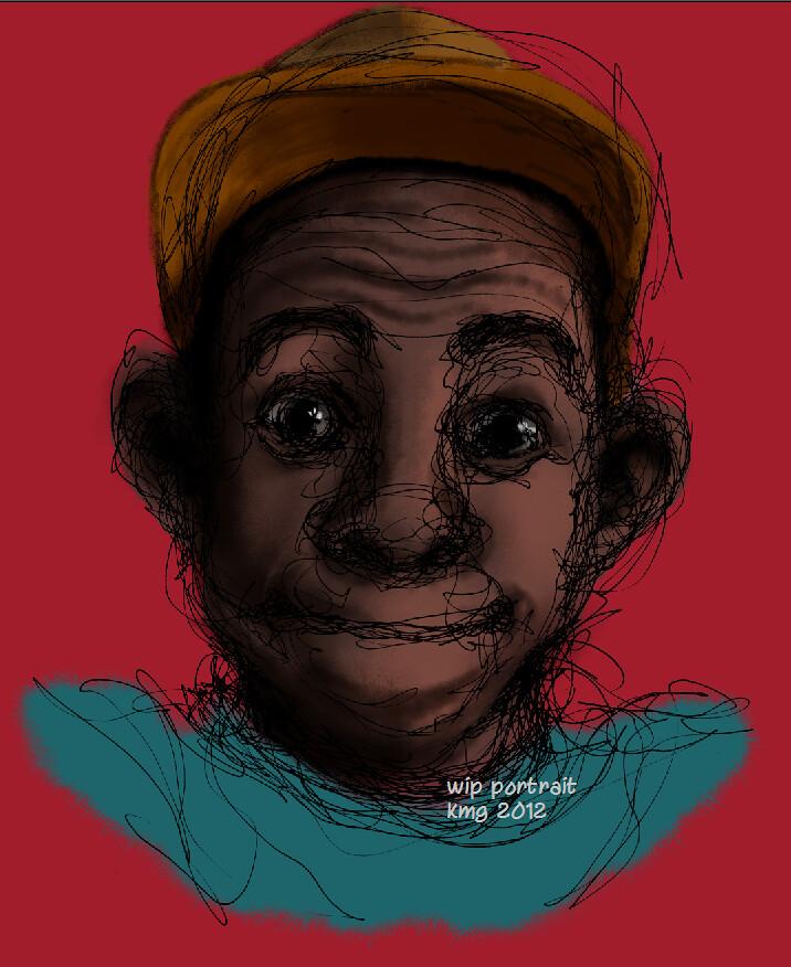 WIP Portrait...