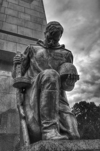 Treptower soviet war memorial.