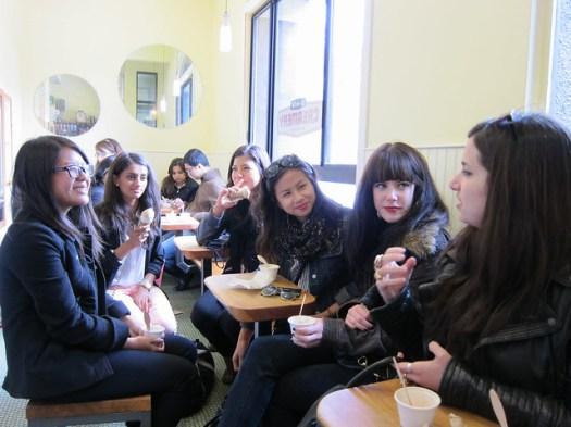 Ladies at Bi-Rite