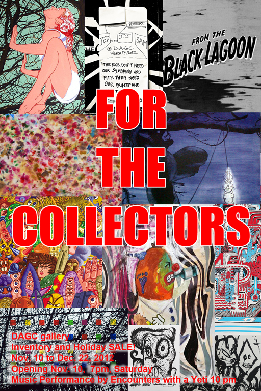 For The Collectors_invite