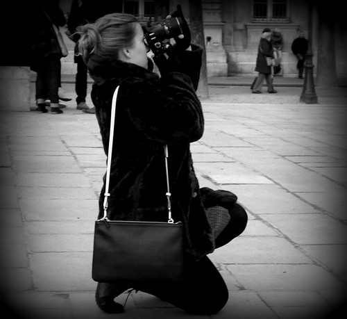 The Photographer ~ Urban Chronicles ~ Paris ~ MjYj by MjYj