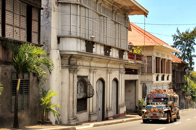 Most of the old houses in Taal have been preserved