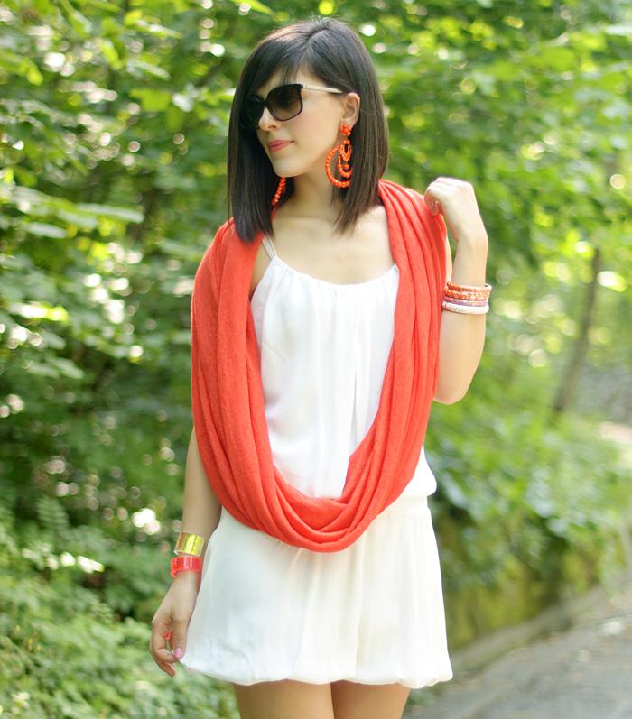 Pin1876 tangerie tango scarf | ASOS