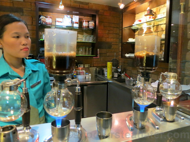 UCC Vienna Cafe- siphon coffee