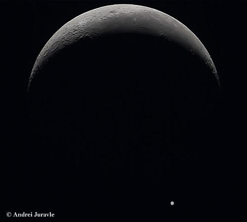 Moon-Jupiter Occultation