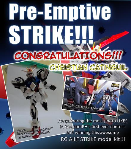 GPH Contest Pre Emptive Strike WINNER
