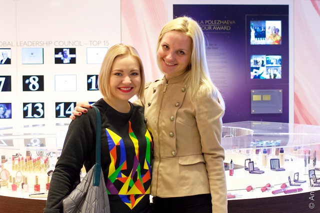 09 Oriflame Stockholm Press Tour Global Office Solvita Akmene, Ann Sokolova