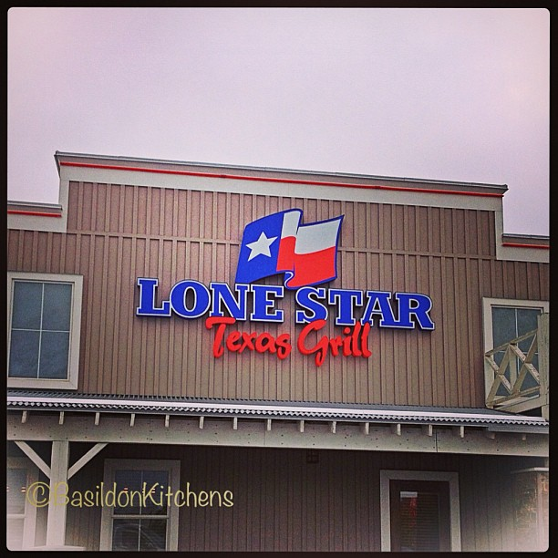 May 10 - stars {where I had a belated birthday lunch with a friend today} #fmsphotoaday #star #lonestartexasgrill