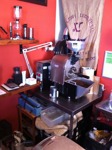 Tiny Roaster - Aslan Coffee, St Peters
