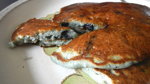 Blueberry Ricotta Pancakes 11