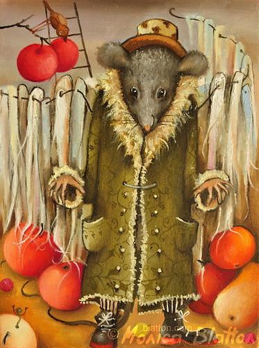 Spirit Of This Year's Harvest by Monica Blatton