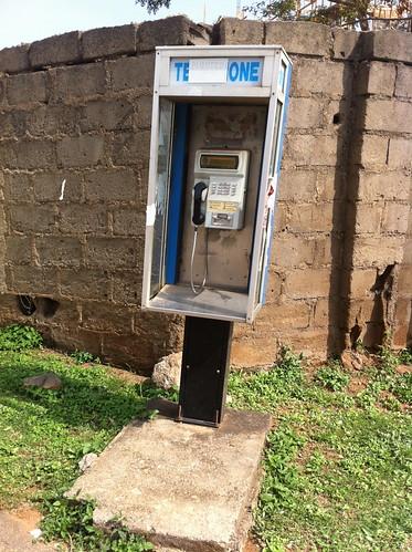 Maitama Abuja Pay phone by Jujufilms