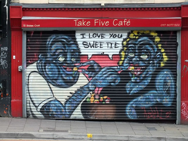 Street Art at Stokes Croft, Bristol