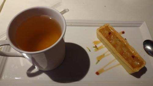 香檸蘋果派與洋甘菊柚香花茶
