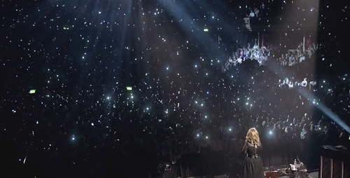 Adele at the Royal Albert Hall