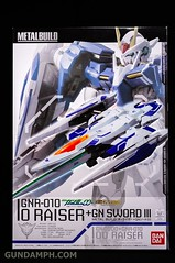 Metal Build 00 Gundam 7 Sword and MB 0 Raiser Review Unboxing (92)