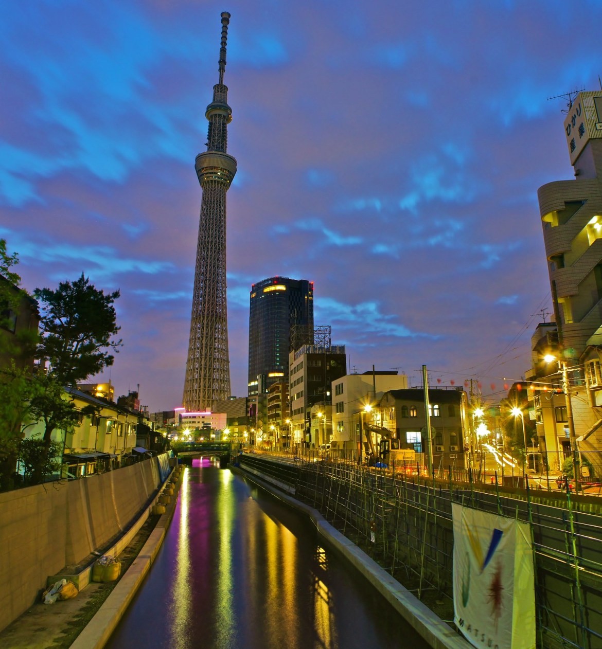Tokyo Skytree a month before the 22 May 2012 launch