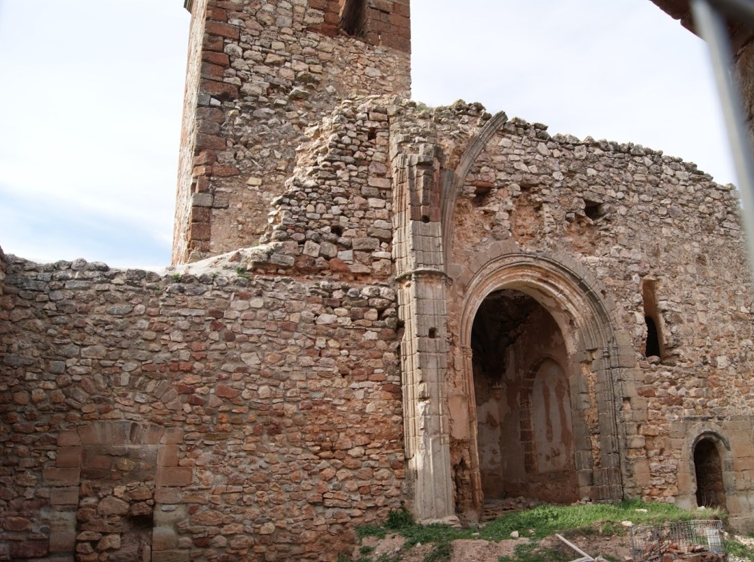 Castillo de Santa Catalina. Autora, Mª Angeles Jiménez García