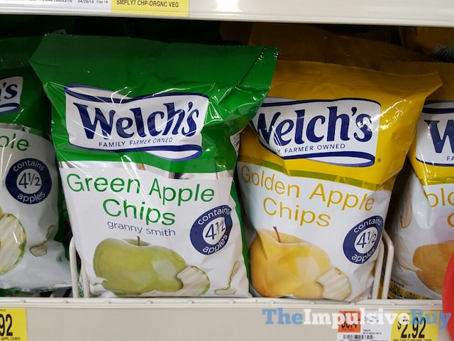 Welch's Green Apple and Golden Apple Chips