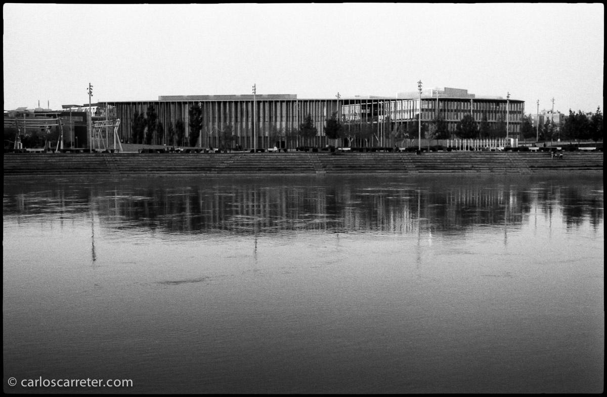 Ebro y antigua Expo 2008