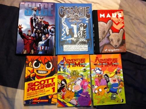 Comics purchased