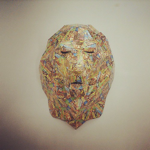 eat the magic lions #brussels #vitrine #installation #gallery #donotopen #xaviermary