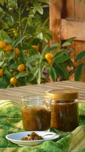 Green bell pepper chutney - Chutney di peperoni verdi