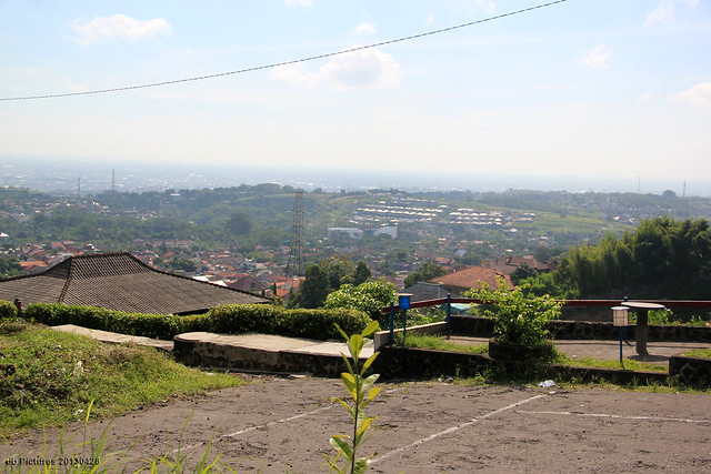 Semarang from Up The Hill