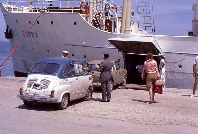 Car Ferry, Greece, 1969