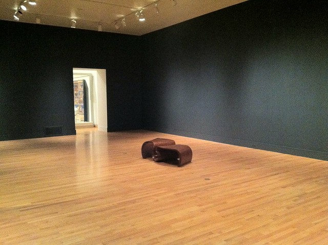 Empty room as exhibit