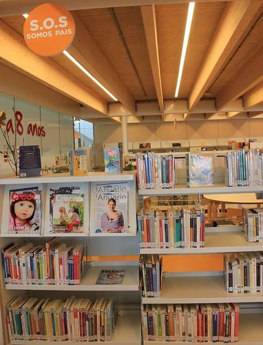 Centro de interés SOS Somos Pais presente en todas nuestras bibliotecas