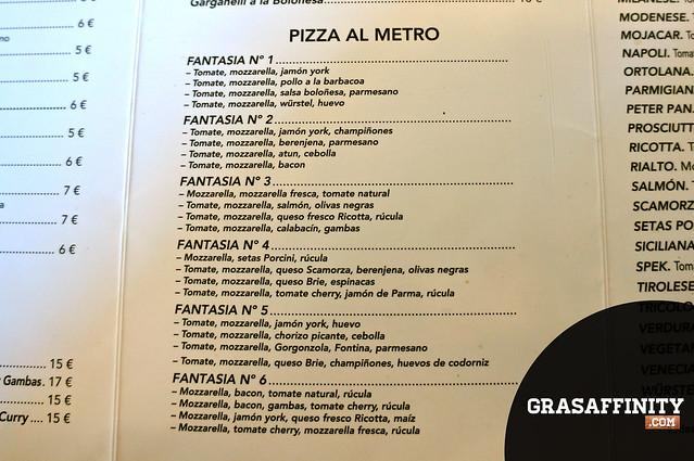 Carta Pizzera Imperial