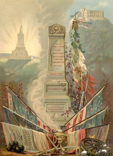 Banderas capturadas en batalla al Ejército de los Estados Unidos. by CharroTaurino