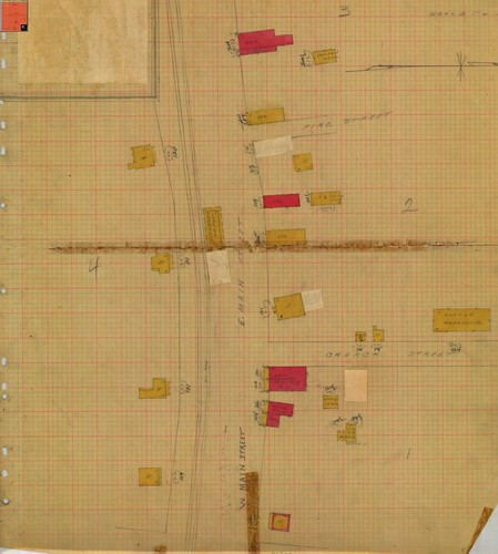 Blackstock, SC Sanborn Map