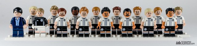 REVIEW LEGO 71014 Die Mannschaft (HelloBricks)