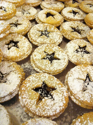 Mince pies for Fetcham Park