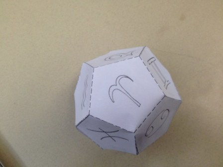 Zodiacal Dodecahedron