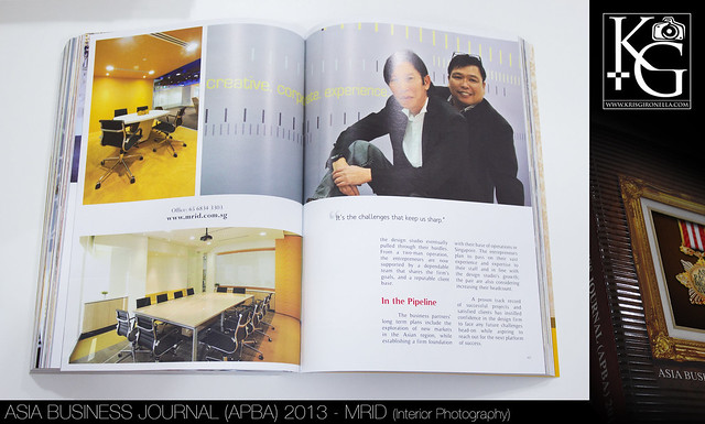 Asia Business Journal (APBA) 2013 - MRID (Interior Photography)