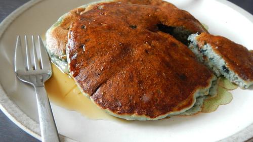 Blueberry Ricotta Pancakes 12