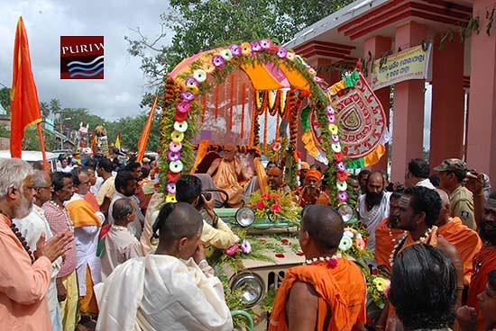 Adi Shankaracharya Jayanti at Puri