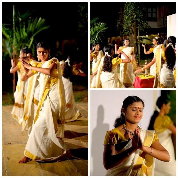Danza femenina en Kerala